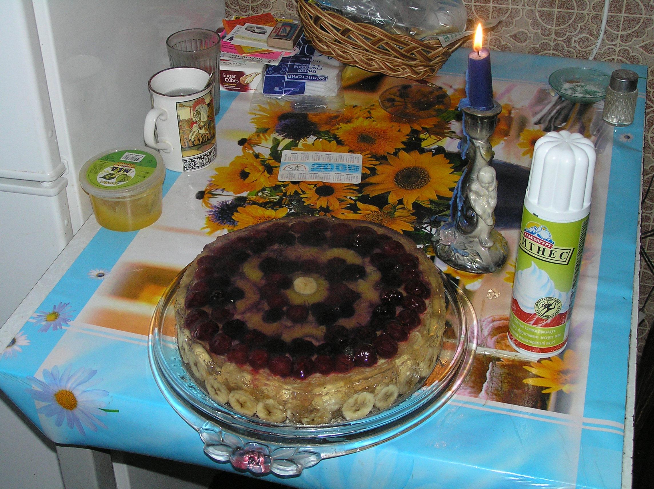 Мой торт для участвующих в матчах памяти проф., мастеру спорта по регби, бронзовому призеру чемпионата СССР 1971 М.Е. Глыбовскому