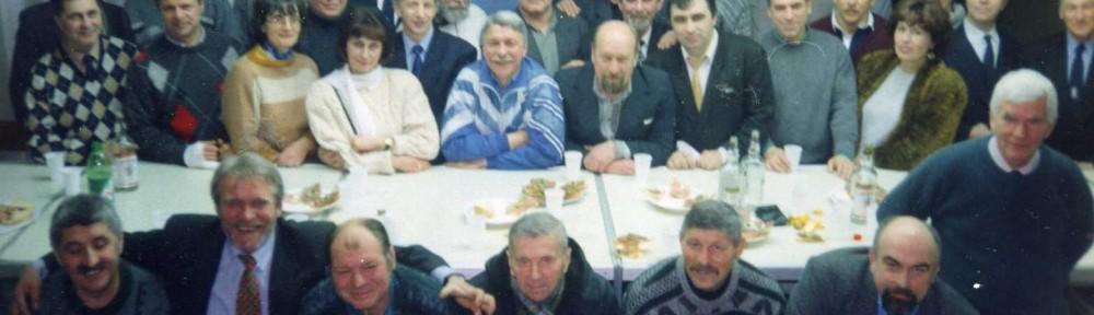 """Встреча легендарных регбистов """"Буревестник""""Л-д, взявших серебро в 1974, 25 лет назад"""