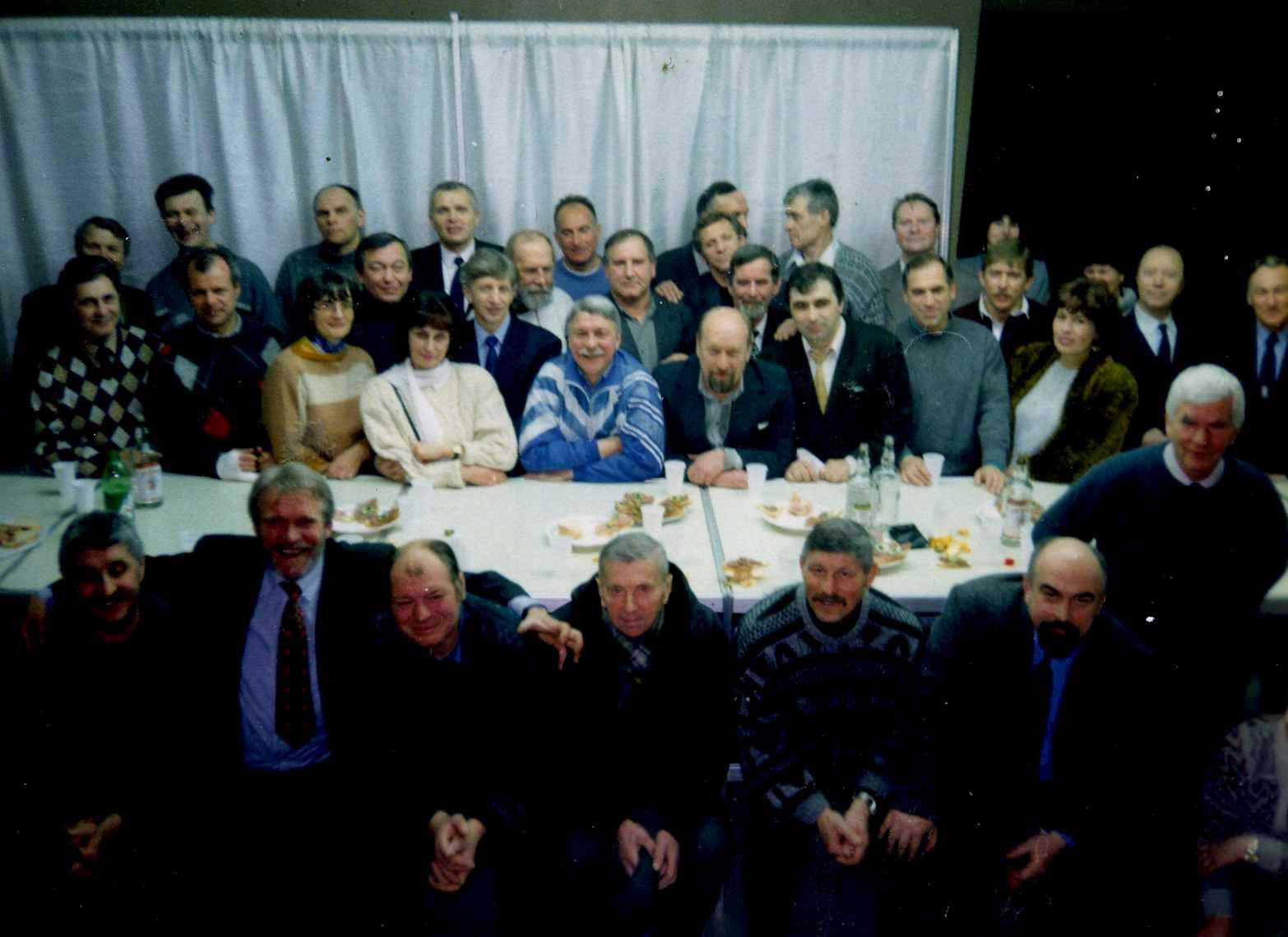 """25 лет завоевания серебряных медалей ленинградского """"Буревестника"""". Встреча легенд"""