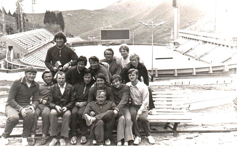 "ЦС ""Буревестник"", Алма-Ата 1974"