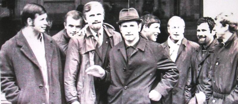 1971. По пути в Ленинград из Кутаиси
