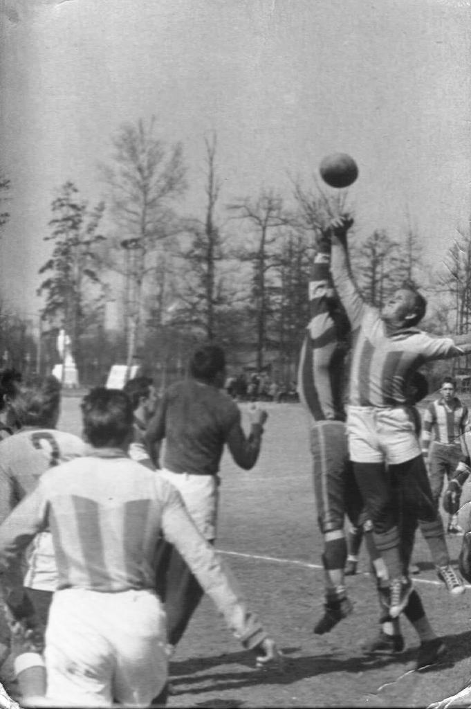первые тренировки 1962