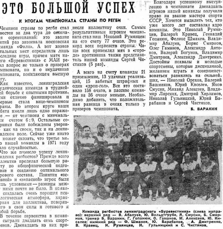 Отсутствовали на фотосессии В.Башмаков, Н.Орехов, А.Антонов, В.Богунов, В.Ларских