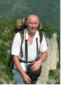 И.О. Панов в горах Крыма