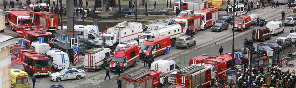 Трехдневный траур в Санкт-Петербурге после теракта в метро с 04.04.2017