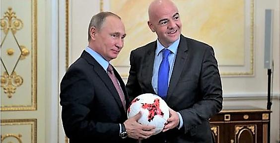 Путин предложил подготовить стратегию развития российского футбола до 2030 года