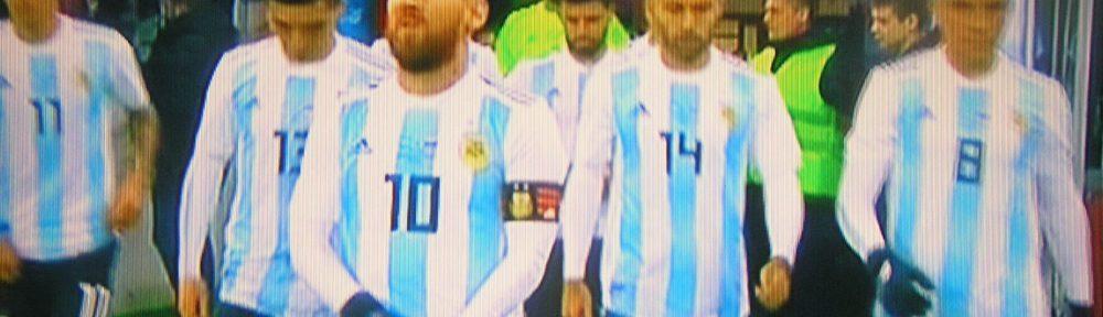 Красочный перфоманс перед матчем с Аргентиной