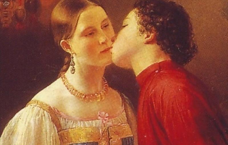 В каких случаях русские целовались три раза