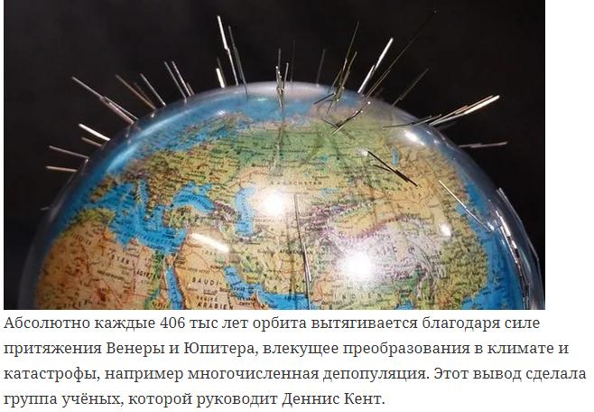 Специалисты: Земля изменила свою орбиту