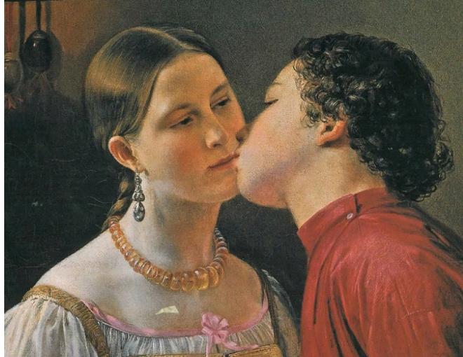 Поцелуй: что на самом деле означает это слово