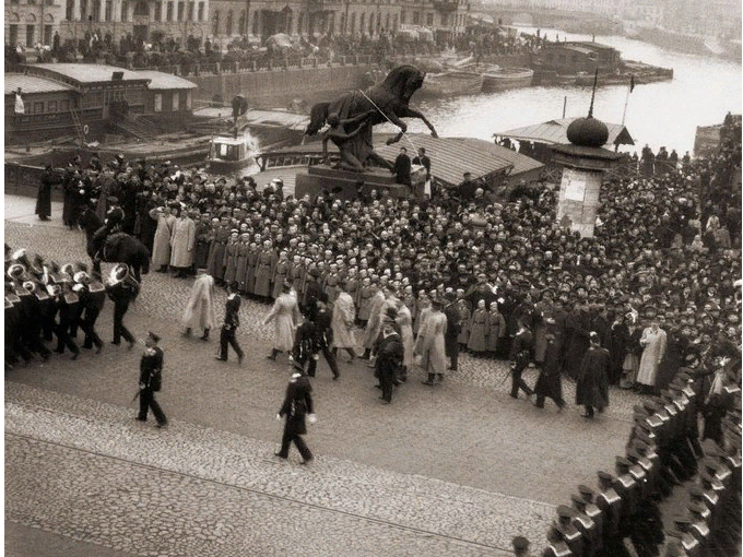 Старые фото города на Неве