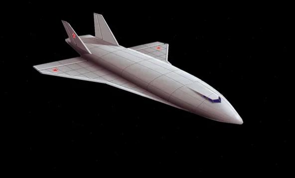 Советский космолёт с ядерным двигателем
