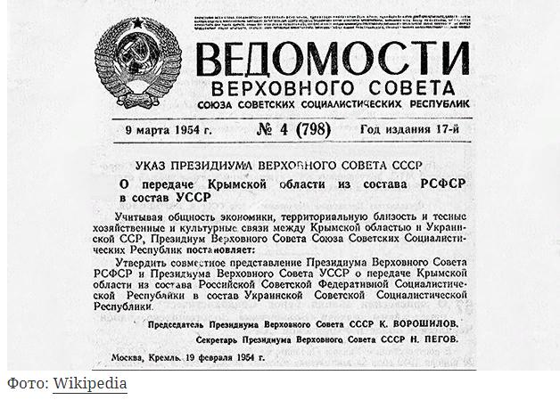 Почему Хрущев отдал Крым Украине икак это изменило историю