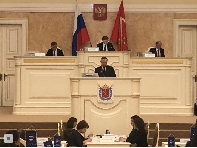Беглов «ВКонтакте» назвал ТОП-7 слов из своего выступления с отчетом в ЗакСе