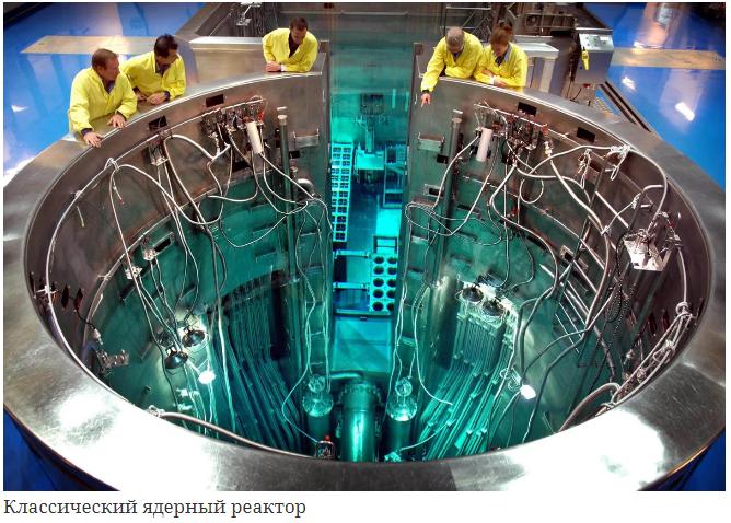 Ядерный реактор….